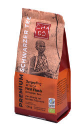 Cha Dô Fairtrade Darjeeling First Flush 100g Bio
