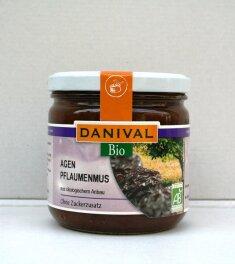 Danival Bio Agen Pflaumenmus 380g