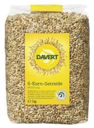 Davert Bio 6-Korn-Getreide 1kg