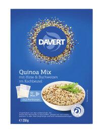 Davert Quinoa Mix Hirse & Buchweizen 250g