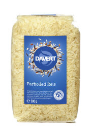 Davert Parboiled Reis Langkorn 500g