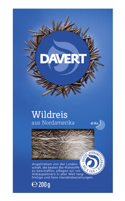 Davert Wildreis 200g