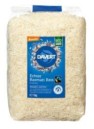 Davert Echter Basmati Reis demeter 1kg
