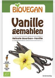 Biovegan Vanille, gemahlen 5g