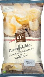 de Rit Kartoffelchips Meersalz 125g