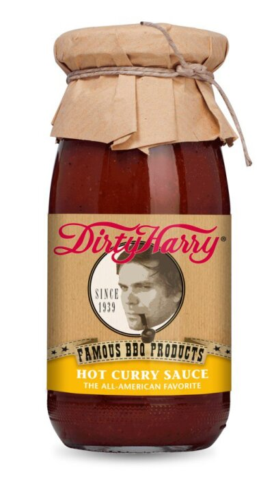 Dirty Harry Hot Curry Sauce BIOLAND 250ml