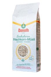 Donath Sechskorn-Frischkorn-Müsli 750g Bio