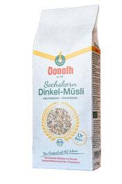 Donath Sechskorn-Dinkel-Müsli 750g