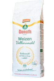 Donath Weizen Vollkorn Mehl Mittel 1kg