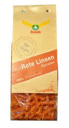 Donath Rote Linsen-PUR Spiralen 250g