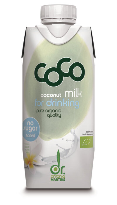 Dr. Antonio Martins Coco Milk for Drinking Pur 330ml Bio