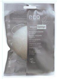 Eco Cosmetics Reinigungsschwamm aus Konjak 1St Bio