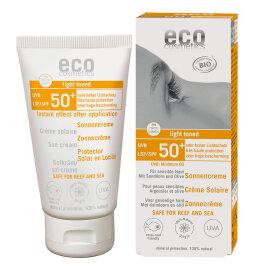 Eco Cosmetics Sonnencreme LSF 50+ getönt 75ml