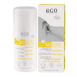 Eco Cosmetics Sonnenlotion LSF 50 100ml