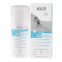 Eco Cosmetics Sonnenlotion LSF 20 neutral 100ml