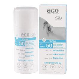Eco Cosmetics Sonnenlotion LSF 50 neutral 100ml