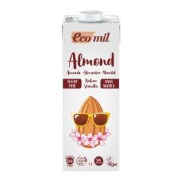 EcoMil Mandeldrink Zuckerfrei Vanille 1l Bio