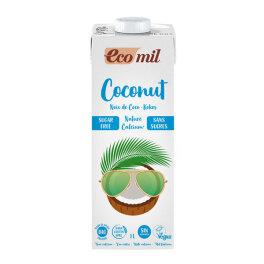 EcoMil Kokosmilch Zuckerfrei Calcium 1l Bio