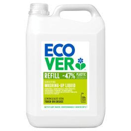 Ecover Geschirrspülmittel Zitrone und Aloe Vera 5l Bio
