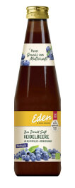 Eden Heidelbeersaft Muttersaft bio 330ml