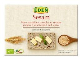 Eden Sesam Vollkorn-Knäckebrot 250g Bio