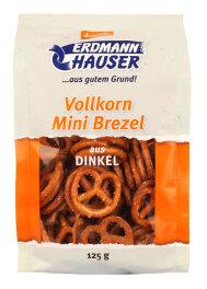 ErdmannHAUSER Minibrezeln Dinkel-Vollkorn 125g Bio