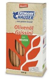 ErdmannHAUSER Grissini mit Olivenöl 100g Bio