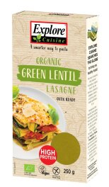 Explore Cuisine Lasagne aus grünen Linsen 250g Bio
