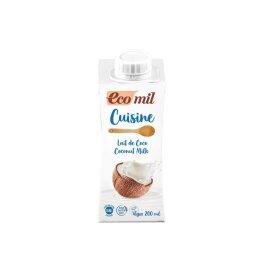 EcoMil Cuisine Bio Kokos Sahne Ersatz 200ml