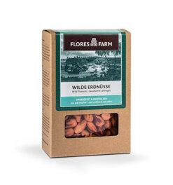 Flores Farm Wilde Erdnüsse 100g