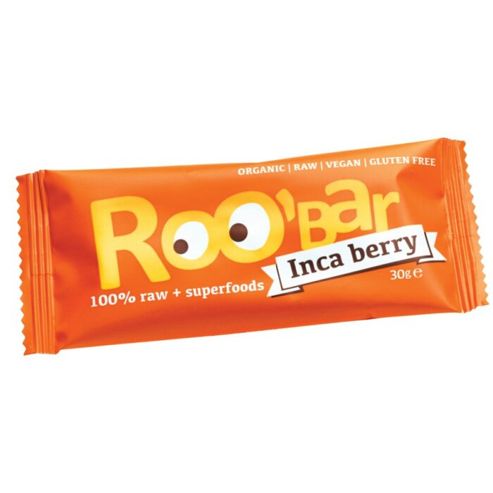 Roobar Inca Berry Rohkost-Riegel mit Superfoods 30g