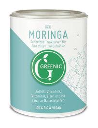 Greenic Moringa Superfood Trinkpulver 100g Bio