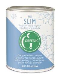 Greenic Slim Superfood Trinkpulver Mischung 100g Bio