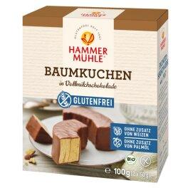 Hammermühle 2 Vollmilch-Baumkuchenringe 100g