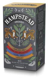 Hampstead Tea Organic Black Tea Selection 40g Bio