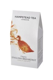 Hampstead Tea Organic English Breakfat Leaf Tea Pouch...
