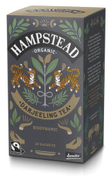 Hampstead Tea Organic Demeter and Fairtrade Pure...