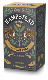 Hampstead Tea Organic Imperial Assam Black Tea 40g Bio