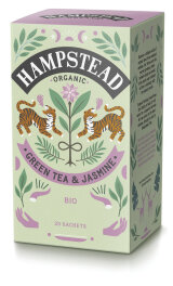 Hampstead Tea Organic Dreamy Jasmine Green Tea 40g Bio
