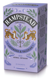 Hampstead Tea Meditate your Spirit Lavendel & Baldrian Bio