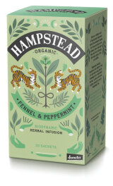 Hampstead Tea Organic Demeter Fennel Peppermint 30g Bio