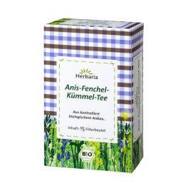 Herbaria Anis-Fenchel-Kümmel-Tee 30g