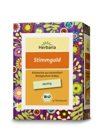 Herbaria Well-Being - Stimmgold 24g