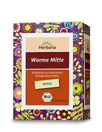 Herbaria Well-Being - Warme Mitte 24g