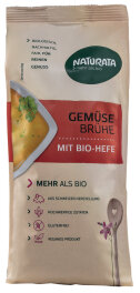 Naturata Gemüsebrühe mit BIO-Hefe...