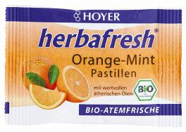 Hoyer Orange-Mint Pastillen 17g