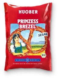 HUOBER BREZEL Prinzess Brezel mit Sesam 125g Bio