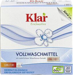 Klar Vollwaschmittel Pulver 1,1kg