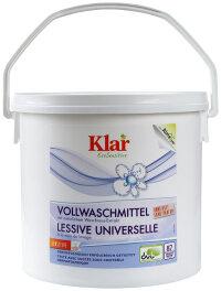 Klar Vollwaschmittel Pulver 4,4kg