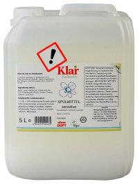 Klar Spülmittel sensitive ohne Duft 5l